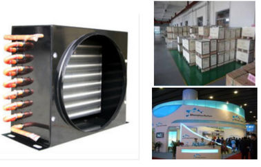 China _ Air conditioner air cooled condenser coil FNA-0.25/1.3 , refrigerator condenser usine